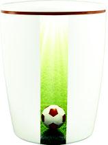 Fussball Urne / weiß