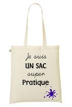 """Tote Bag """"Enseignant"""" personnalisé Coton standard"""