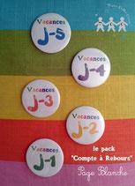 "Pack ""Compte à rebours"" Page blanche"