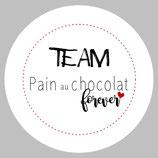 "Badge ""Pain au chocolat"""
