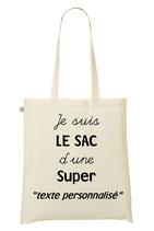 """Tote Bag personnalisé """"Super ..."""""""