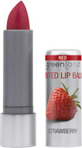 Farbiger Lippenbalsam Erdbeere rot