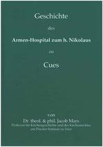 Marx, Jacob: Geschichte des Armen-Hospitals