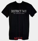 District 74 T-Shirt, schwarz