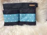Multi-Bag mit Sternen hellblau