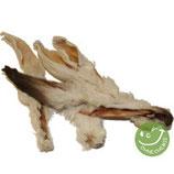 Kaninchen-Ohren mit Fell