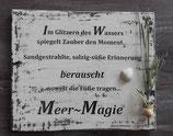 """Shabby Schild """"Meer - Magie"""""""