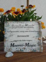 "Shabby Schild ""Meeres - Magie"""
