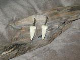 Vogelschädel Replika Ohrringe