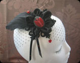 *VERKAUFT* Fascinator *One heartbeat away*