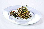 Bohnensalat grün