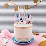 Bougies anniversaire Wilton set