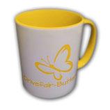 Drivefair-Butterfly Tasse Gelb