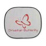 Drivefair-Butterfly Auto- Sonnenschutzblende Rot