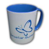 Drivefair-Butterfly Tasse Blau