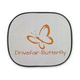 Drivefair-Butterfly Auto- Sonnenschutzblende Orange