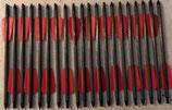 "20 Carbonbolzen 7,5"" für Cobra R9 Armbrustbolzen Ek Archery rote Feder"