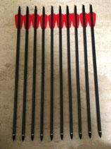 """10 Carbonbolzen 15"""" Cobra RX - 130 lbs Armbrustbolzen EkArchery"""