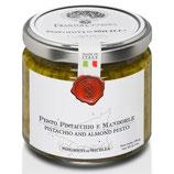 Pesto aus Pistazien und Mandeln