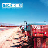 "NERD SCHOOL new album ""blue sky for white lies"" CD"
