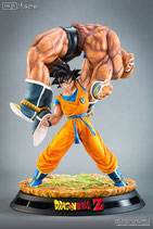 The Quiet Wrath of Son Goku HQS by Tsume Art
