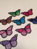 Bügelbilder Schmetterlinge