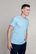 Camiseta Hombre manga corta algodón peinado