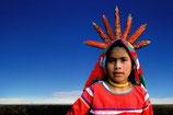 TATEI NIVÉTZICA Niña-diosa del maíz. Cultura Huichol, Mexico, 2001