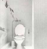 Suzanne Pastor - Rudy Kicken's bathroom, Cologne, 1981