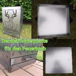 Deckel/Bodenplatte für Feuerkorb