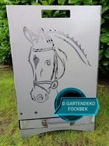 Feuerkorb Pferd/Hufeisen