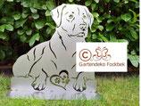 Figur Gartenfigur Labrador