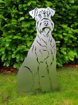 Figur Gartenfigur Airedale Terrier