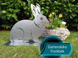 Gartenfigur Hase