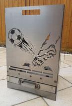 Feuerkorb Fußball