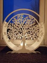 Laterne/Windlicht  Lebensbaum