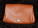 Porte monnaie en cuir 3 poches