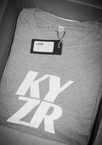KYZR Shirt - TQ Grey // 100% Bio-Baumwolle