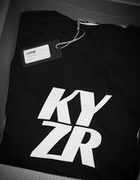 KYZR Shirt - TQ Black // 100% Bio-Baumwolle