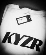 KYZR Shirt - TJ White // 100% Bio-Baumwolle