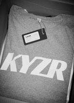 KYZR Shirt - TJ Grey // 100% Bio-Baumwolle