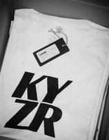 KYZR Shirt - TQ White // 100% Bio-Baumwolle