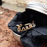 liebevoll von Hand gebogener Ring - personalisiert