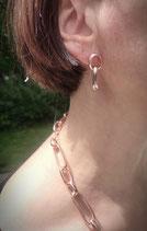Desi orecchini oro rosa