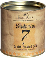 Salt No. 7. Danish Smoked Salt.