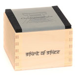 Grubensalz - Holzbox, Filz + Inlay