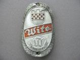 FAHRRAD OLDTIMER Emblem Steuerkopf Schild WITE Original ~1930-1950 ...