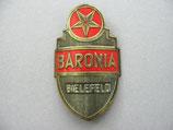 FAHRRAD OLDTIMER Emblem Steuerkopf Schild BARONIA Fahrradwerke ~1930-1950 ...