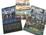 EISENBAHN Drei (3) Bildbände 1958/1960 125jähriges Jubiläum ...