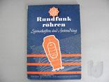 AEG Rundfunkröhren 1936/1937 Eigenschaften und Anwendung